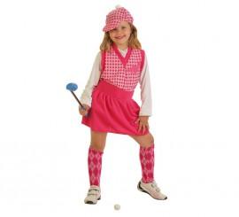 Disfraz de Jugadora de Golf para niña