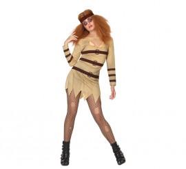 Disfraz de Loca para mujer para Halloween