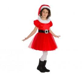 Disfraz de Mamá Noel para bebés y niñas para Navidad