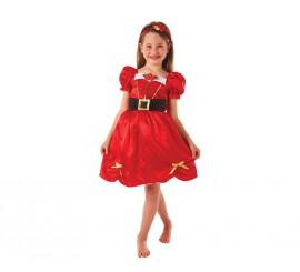 Disfraz de Mamá Noel para niñas para Navidad