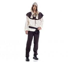 Disfraz de Medieval Abelardo para hombre