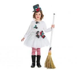 Disfraz de Muñeco de Nieve para bebé y niña