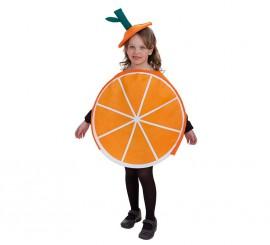 Disfraz de Naranja para niños