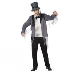 Disfraz de Novio Zombie para hombre para Halloween