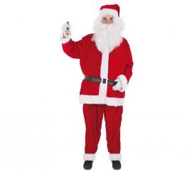 Disfraz de Papá Noel Lux para hombre
