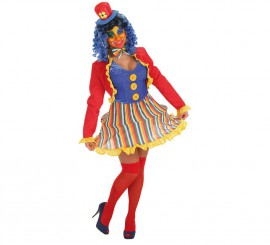 Disfraz de Payasa Lola para mujer