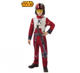 Disfraz de piloto Poe Dameron de Star Wars VII
