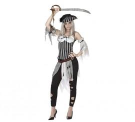 Disfraz de Pirata Muerta para mujer