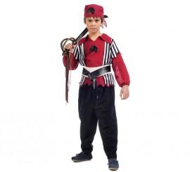 Disfraz de Pirata Shanks para niño