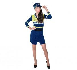 Disfraz de Policía Local para mujer