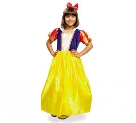 Disfraz de Princesa amarilla para niña