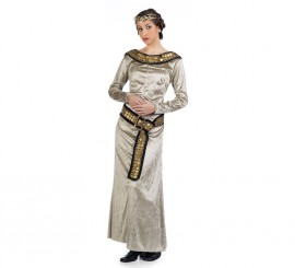 Disfraz de Princesa Braveheart beige para mujer