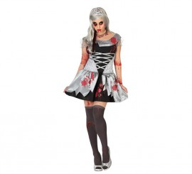 Disfraz de Princesa Muerta para mujer para Halloween