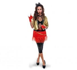 Disfraz de Punky de los años 80 para mujer