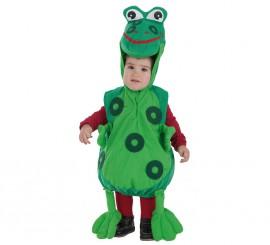 Disfraz de Ranita verde para bebé