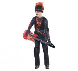 Disfraz Rock Zombie para niños y adolescentes Halloween