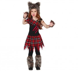 Disfraz de Scotish Wolf Girl