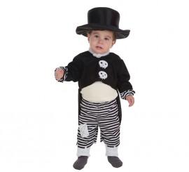 Disfraz de Skeletboy para bebé