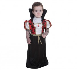 Disfraz de Vampira gótica para bebé
