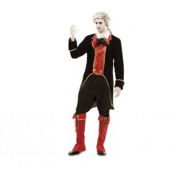 Disfraz de Vampiro Barroco para hombre en talla M-L para Halloween