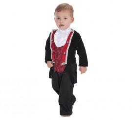 Disfraz de Vampiro gótico para bebé