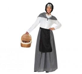 Disfraz de Vieja Castañera para mujer