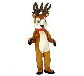 Disfraz Mascota Reno Rudolph para adultos