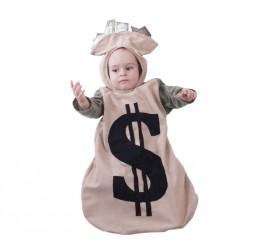 Disfraz o saquito del dinero para bebés
