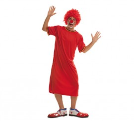 Disfraz de Payaso Rojo para Hombre talla M-L