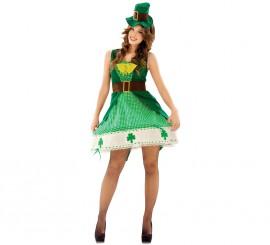 Disfraz de Irlandesa para Mujer talla M-L