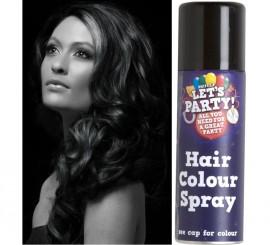 Spray de Pintura para Cabello color Negro 125 ml