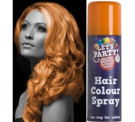 Spray de Pintura para Cabello color Naranja 125 ml