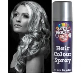Spray de Pintura para Cabello color Plata 125 ml