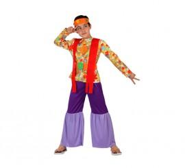 Disfraz de Hippie para niños de 10 a 12 años