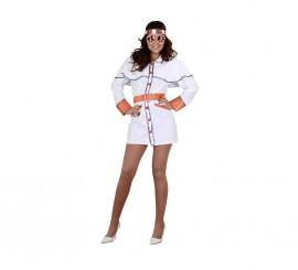 Disfraz de Chica Hippie de los años 70 para mujer