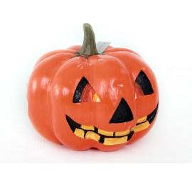 Cara de Calabaza grande para Halloween,29x29x24cm.