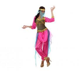 Disfraz de Bailarina Árabe rosa de mujer