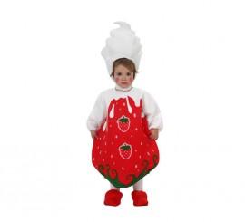 Disfraz de Fresa para bebés