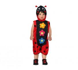 Disfraz de Mariquita para bebés talla 6 a 12 meses