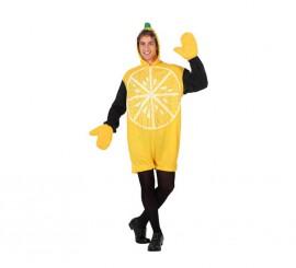 Disfraz de Limón para hombre talla M-L