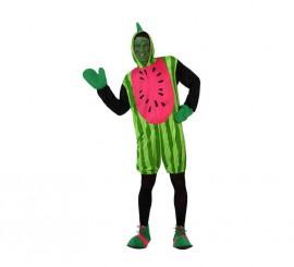 Disfraz de Sandía para hombre talla M-L
