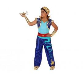 Disfraz de Genio Encantado para niños