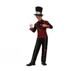 Disfraz de Niño Póker para niños