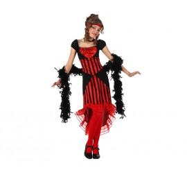 Disfraz de Cabaretera para niñas