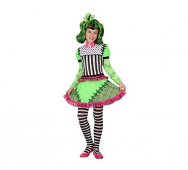 Disfraz de Monstruo Frankenstein para niña