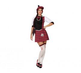 Disfraz de Escocesa Sexy para mujer