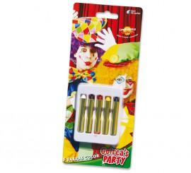 Caja 5 barritas de maquillaje de 5 cm.