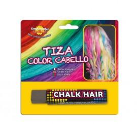 Blister Barra de Tiza para el pelo de color Gris