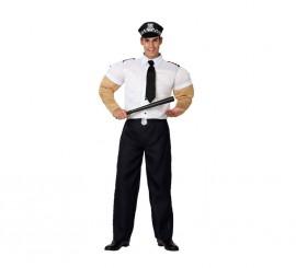 Disfraz de Policía Musculoso para hombres