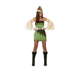 Disfraz de Chica del Bosque para mujer